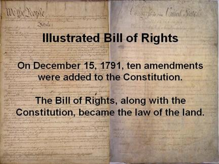 photo regarding Bill of Rights Quiz Printable referred to as Illustrated Invoice of Legal rights - Consutional Legal rights Base