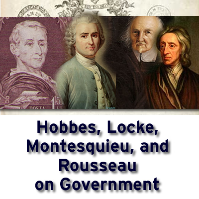 hobbes locke montesquieu and rousseau on How did the philosophies of rousseau, locke, and montesquieu influence the  us  and differences between montesquieu, hobbes, locke, and rousseau's.