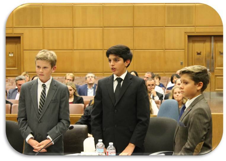 The Los Angeles Mock Trial Program Is An Academic Competition In Which Over 2500 High School And Middle Students Compete At County Level