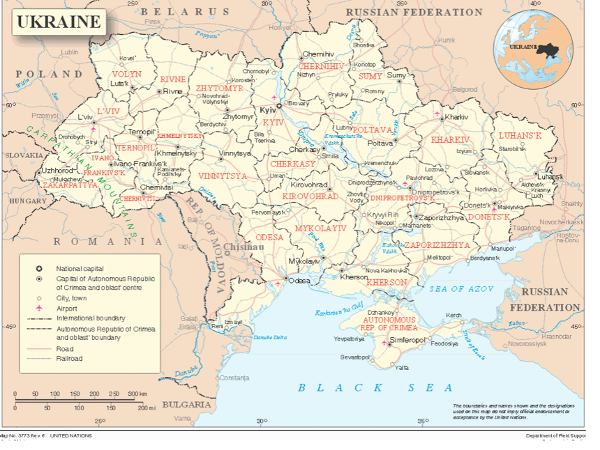 The Crisis in Ukraine - Constitutional Rights Foundation